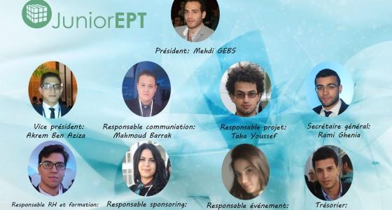 Le lancement de Junior entreprise EPT