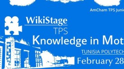 WikiStage TPS – Knowledge In Motion (événement expiré)
